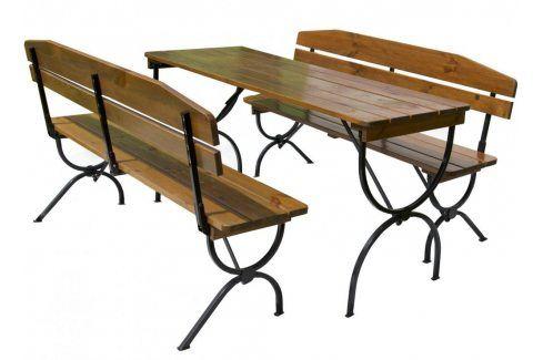 Tradgard BRAVO 35267 Dřevěný zahradní set - 180CM Zahradní sestavy