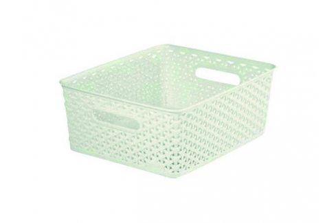 CURVER MY STYLE 33081 Plastový košíček M - krémový Úložné boxy