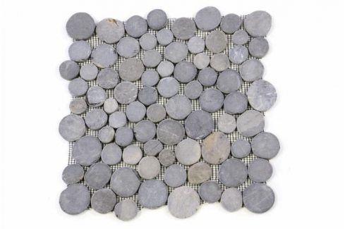 Garth Mozaika z andezitu - šedá obklady - 1x síťka Obklady a dlažby