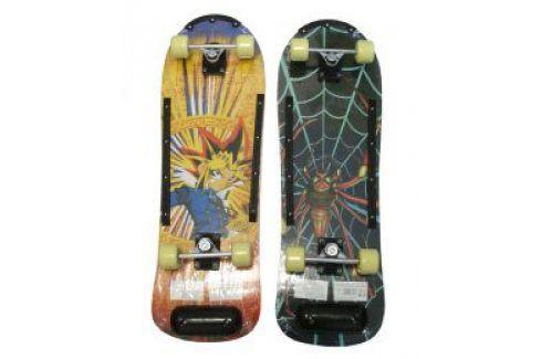 CorbySport 5726 Skateboard barevný dřevěná deska Skateboard