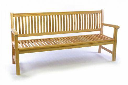 Divero 35521 Zahradní lavice masiv 3-místná 180 cm Zahradní lavice