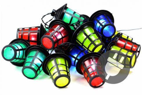 Garthen 40762 Barevné osvětlení - 20 LED lucerniček - 5 m Zahradní lampy