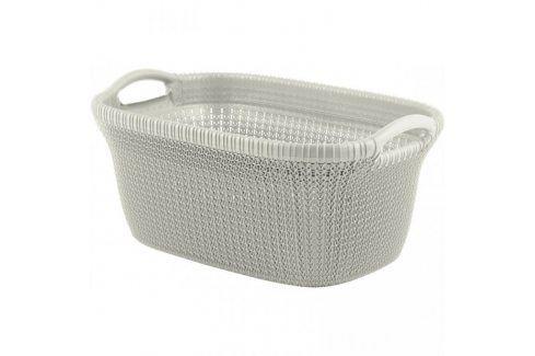CURVER KNIT 37010 Koš na čisté prádlo - 40L - krémový Koše na prádlo