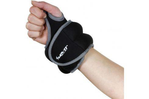MOVIT 33064 Neoprenová kondiční zátěž 0,5 kg, černá Zátěžové náramky