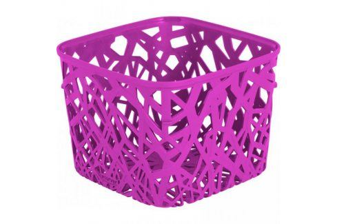 CURVER NEO SQUARE 32976 Plastový košík - fialový Úložné boxy