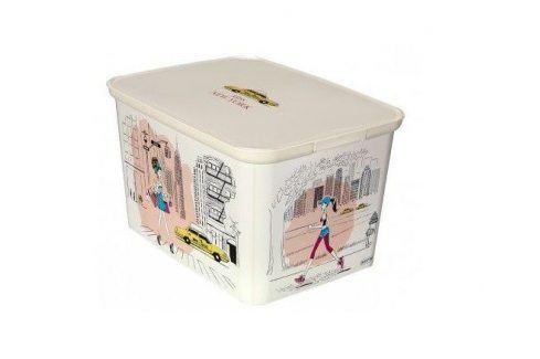 CURVER DECO Miss New York 32334 Úložný box - L Úložné boxy