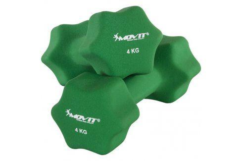 MOVIT 29322 Set 2 činek s neoprenovým potahem 4 kg Činky