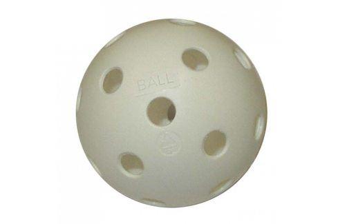 CorbySport 5102 Florbalový míček necertifikovaný bílý Florbalové míčky