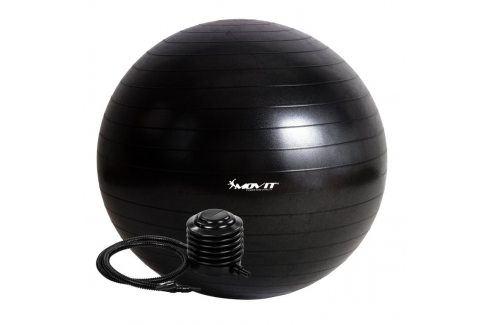 MOVIT 54098 Gymnastický míč s pumpou - 85 cm - černý Gymnastické míče