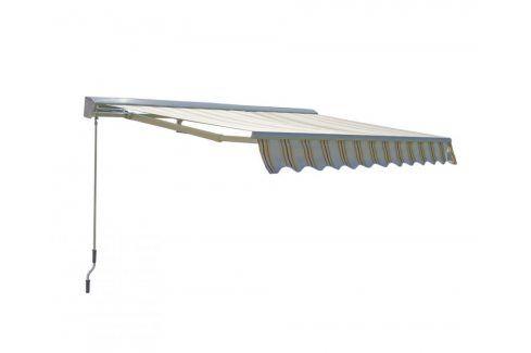 Tradgard 318 Markýza 3x2 m s krytem - béžový pruh Markýzy