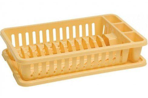 CURVER 31783 Odkapávač na nádobí - žlutý Odkapávače nádobí