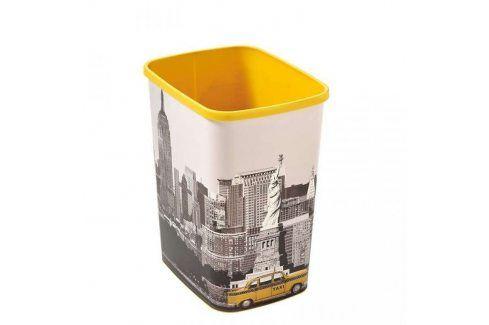 Odpadkový koš Curver Deco Flipbin New York 25 l Kancelářské potřeby