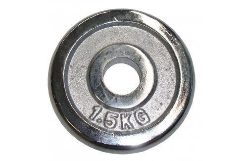 CorbySport 4756 Kotouč chrom 1,5 kg - 30 mm Závaží k Činkám