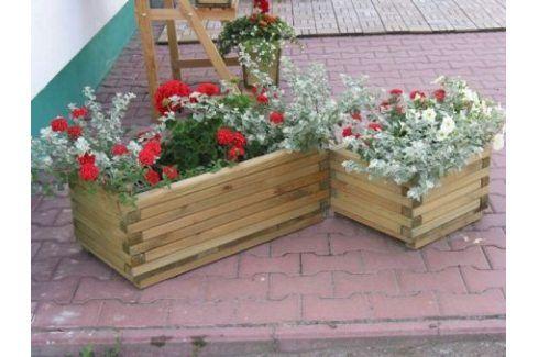 Tradgard 2701 Dekorativní obdélníkový květináč malý Květináče a truhlíky