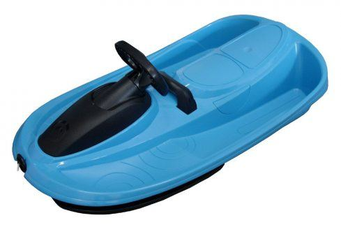 CorbySport STRATOS 32614 Řiditelný bob modrý Dětské boby a sáně