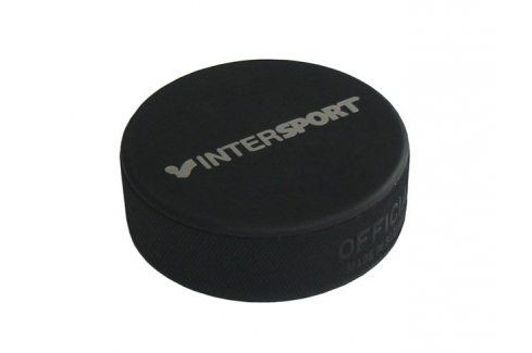 CorbySport Senior 5149 Hokejový puk oficiální - s potiskem Hokejové doplňky