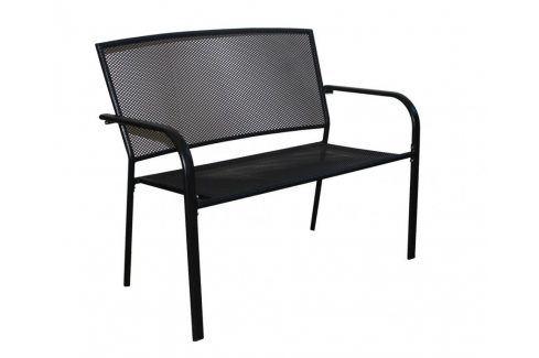 Tradgard ZWMC-D19 54564 Zahradní lavice kovová - pro dvě osoby Zahradní lavice