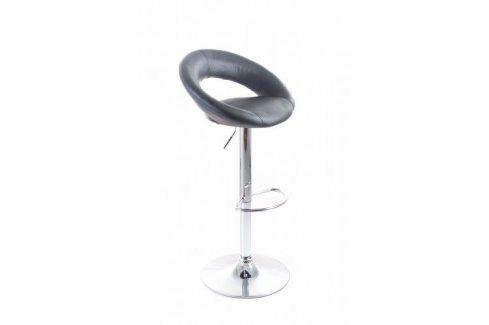 G21 Orbita 51548 Barová židle black, koženková Barové židle