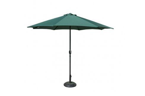 Tradgard 41380 Slunečník  270 cm - zelený Zahradní slunečníky a doplňky