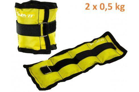 MOVIT 31946 zátěžové manžety, 2 x 0,5 kg žlutá Ostatní fitness nářadí
