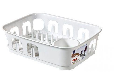 CURVER ESSENTIALS 31853 Odkapávač nádobí obdélník - bílý Odkapávače nádobí