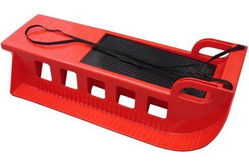 CorbySport Kamzík 28318 - plastové sáně - červené Dětské boby a sáně