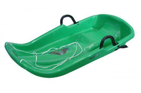 CorbySport Twister 28094 Bob plastový - zelený Dětské boby a sáně
