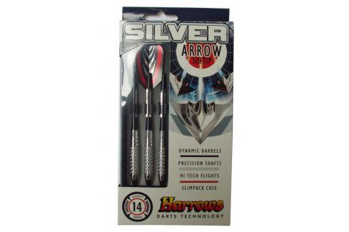 Harrows SOFT SILVER ARROW Šipky s plastovým hrotem 18g Šipky