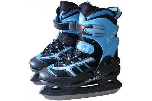 CorbySport Action 5210 Hokejové brusle dětské, vel.30-33 Zimní brusle