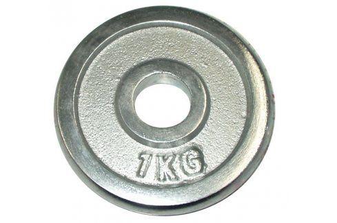 CorbySport 4751 Kotouč chrom 1kg - 25 mm Závaží k Činkám