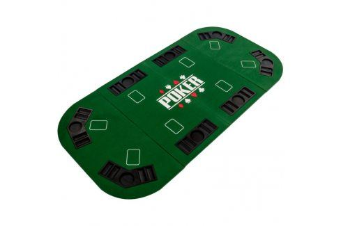 Garthen 57300 Skládací pokerová podložka - zelená Stoly na poker