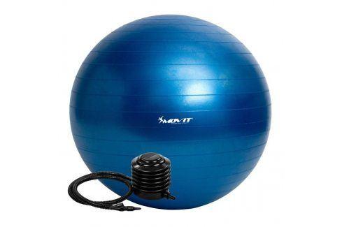 MOVIT 54097 Gymnastický míč s pumpou - 85 cm - modrý Gymnastické míče