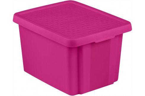 CURVER Úložný  box  s víkem 26L - fialový Úložné boxy
