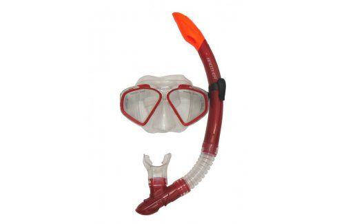 CorbySport 32589 Sada potápěčská - červená Potápěčské vybavení