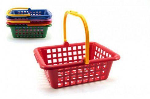 LORI Nákupní košík plast 30x11x27cm Dětské kuchyňky