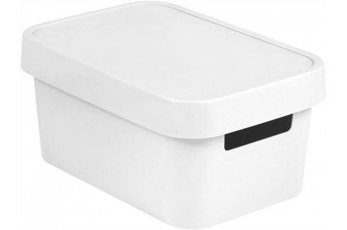 CURVER INFINITY Úložný box 4,5L - bílý Úložné boxy