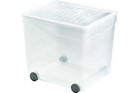 CURVER Úložný plastový box 33L s kolečky Úložné boxy