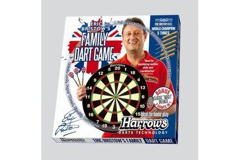 HARROWS Family Dart Game Sada terč a 6 ks šipek Terče