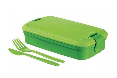 CURVER LUNCH & GO Svačinový box - zelený Jídlonosiče