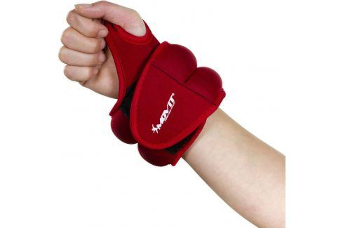 Movit 33073 Neoprenová kondiční zátěž 1,0 kg, červená Zátěžové náramky