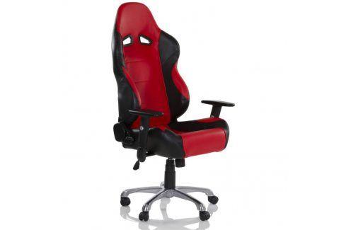 RACEMASTER® RS Series 32563 Kancelářská otočná židle, černá/červená Kancelářská křesla