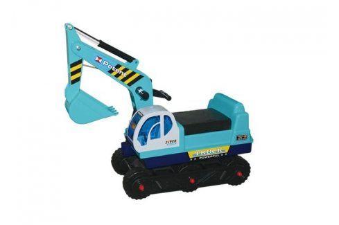 G21 27872 Hračka Dětský bagr pásový, modrý Auta, letadla, lodě