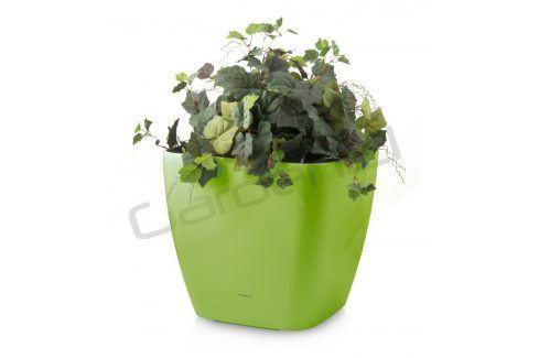 G21 Cube maxi Samozavlažovací květináč zelený 45cm Květináče a truhlíky