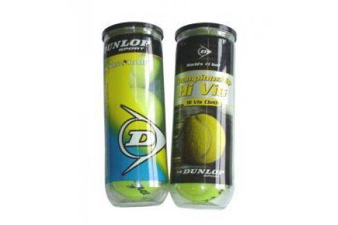 CorbySport DUNLOP Championship 5011 Míčky tenisové 3ks Tenisové míče