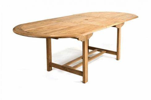 Garthen 1093 Rozšiřitelný zahradní stůl z týkového dřeva , 170 - 230 cm Zahradní stolky
