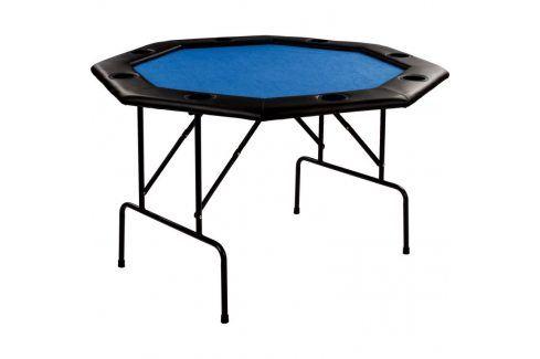 Garthen 57305 Pokerový stůl - modrý Stoly na poker