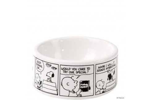 PEANUTS Miska pro psy komiks Snoopy
