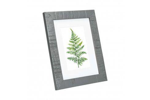 PICTURE IT Rámeček na fotky 10 x 15 cm - šedá Domácnost