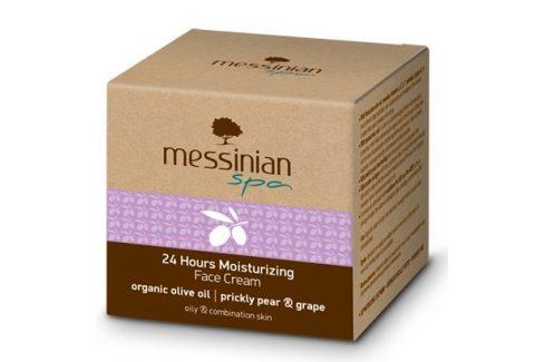 Messinian Spa Hydratační krém na obličej s 24 hodinovým účinkem opuncie & hroznové víno 50 ml Pleťové krémy