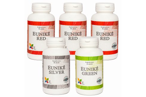 Queen Euniké Euniké for Woman - tříměsíční kúra pro ženy 390 tobolek Doplňky stravy
